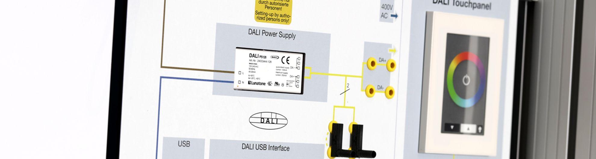 Beleuchtung DALI-Steuerung