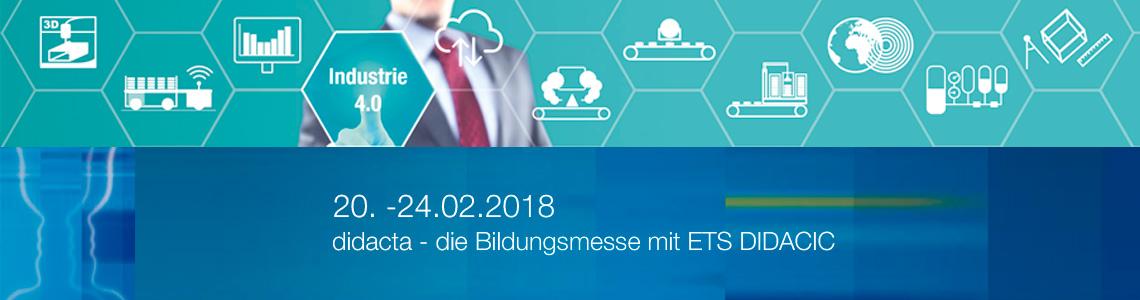ETS auf der didacta 2018 in Hannover