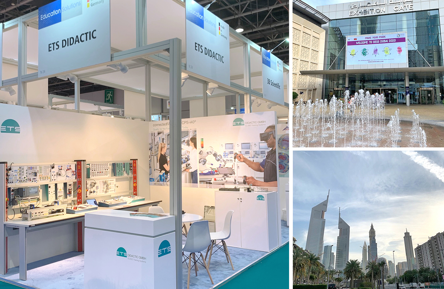 GESS 2020 - Positives Messe-Feedback in Dubai