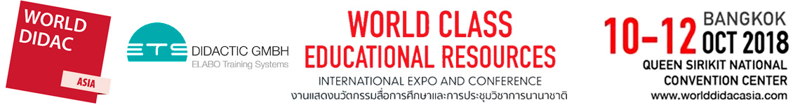 ETS auf der Worlddidac ASIA 2018