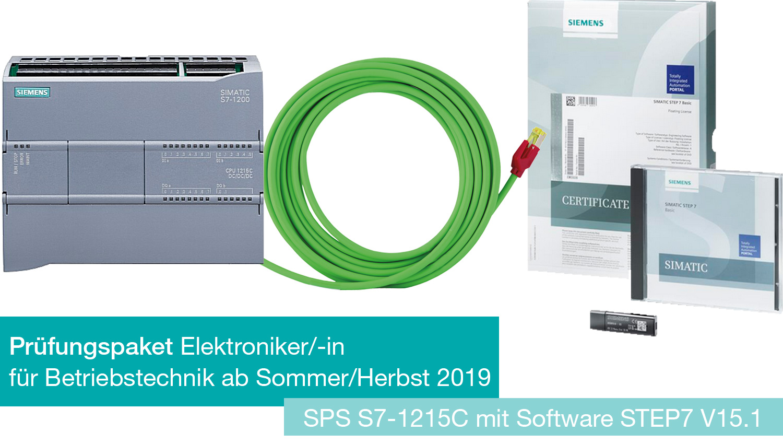 Prüfungspaket S7-1215C für EBT