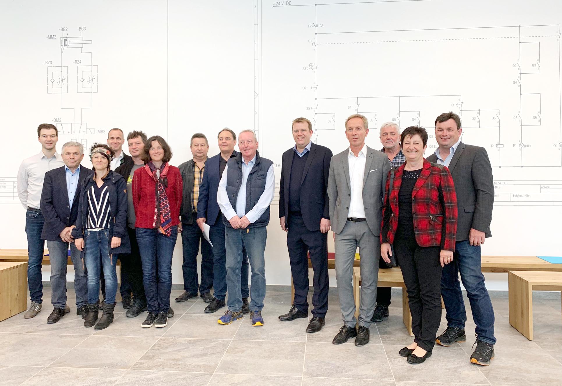 Dr. Reinhard Brandl besucht ETS DIDACTIC