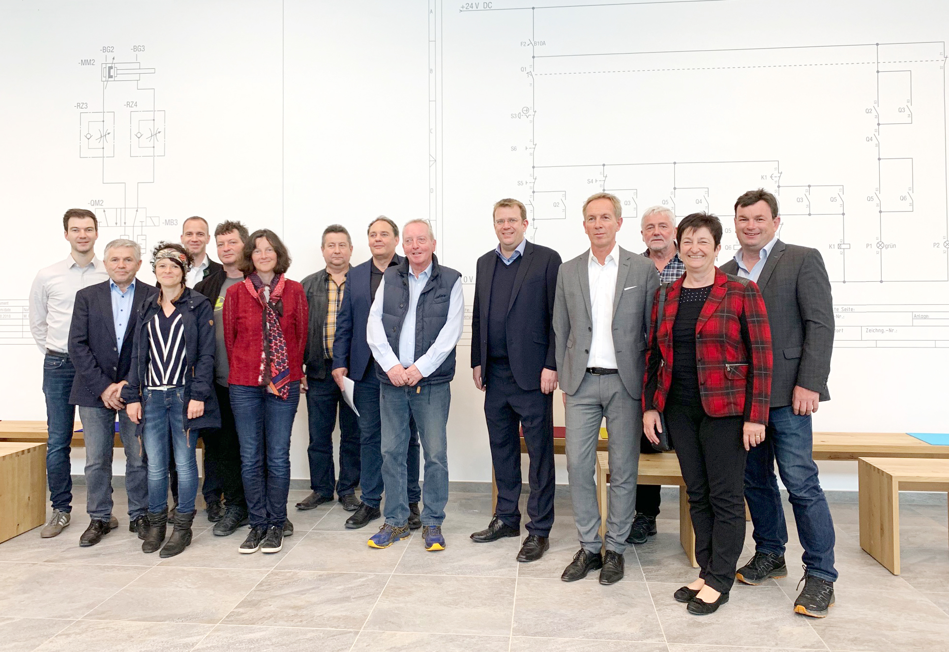 Dr. Reinhard Brandl visited ETS DIDACTIC